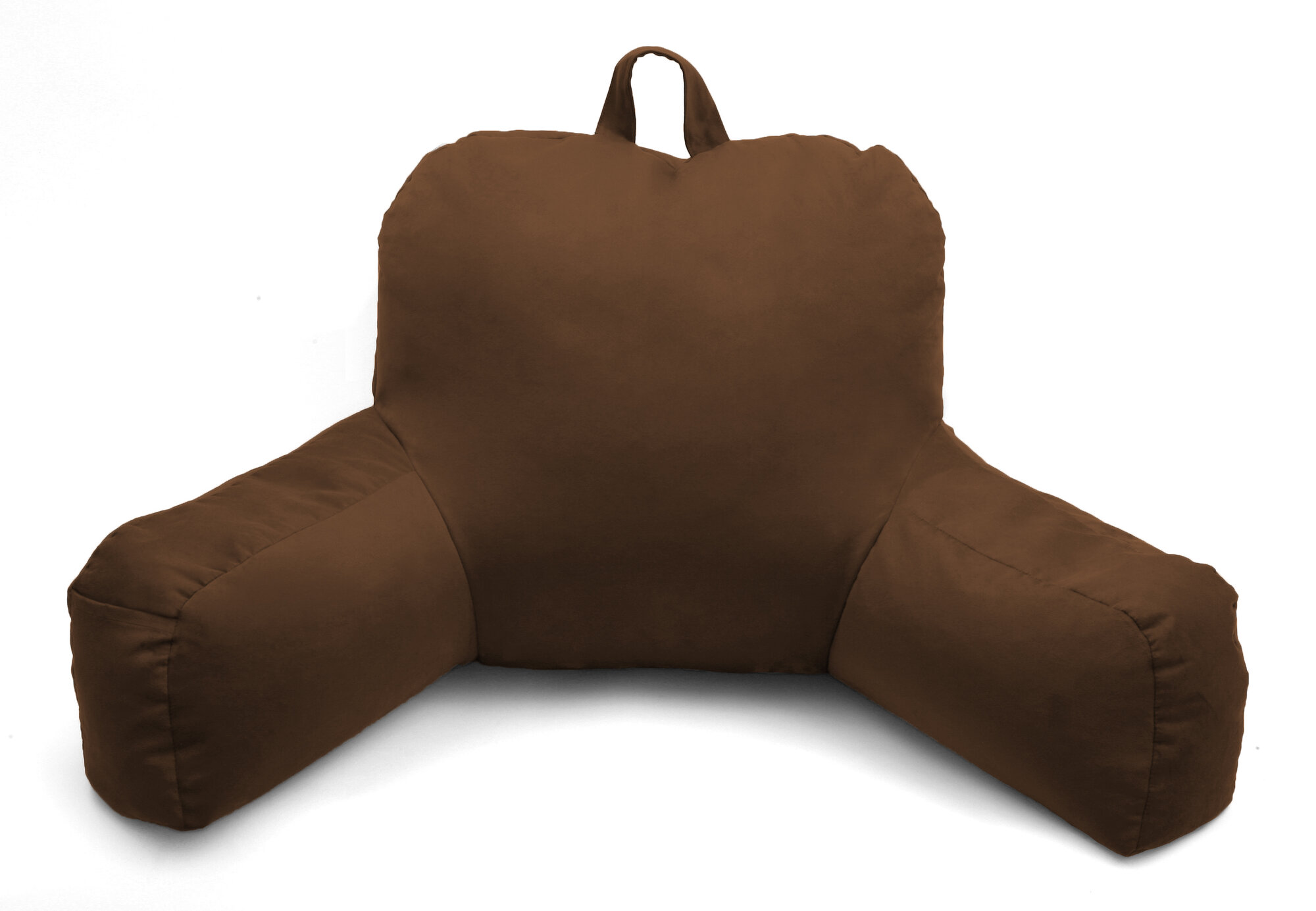 deluxe comfort porter microsuede bed rest pillow ebay