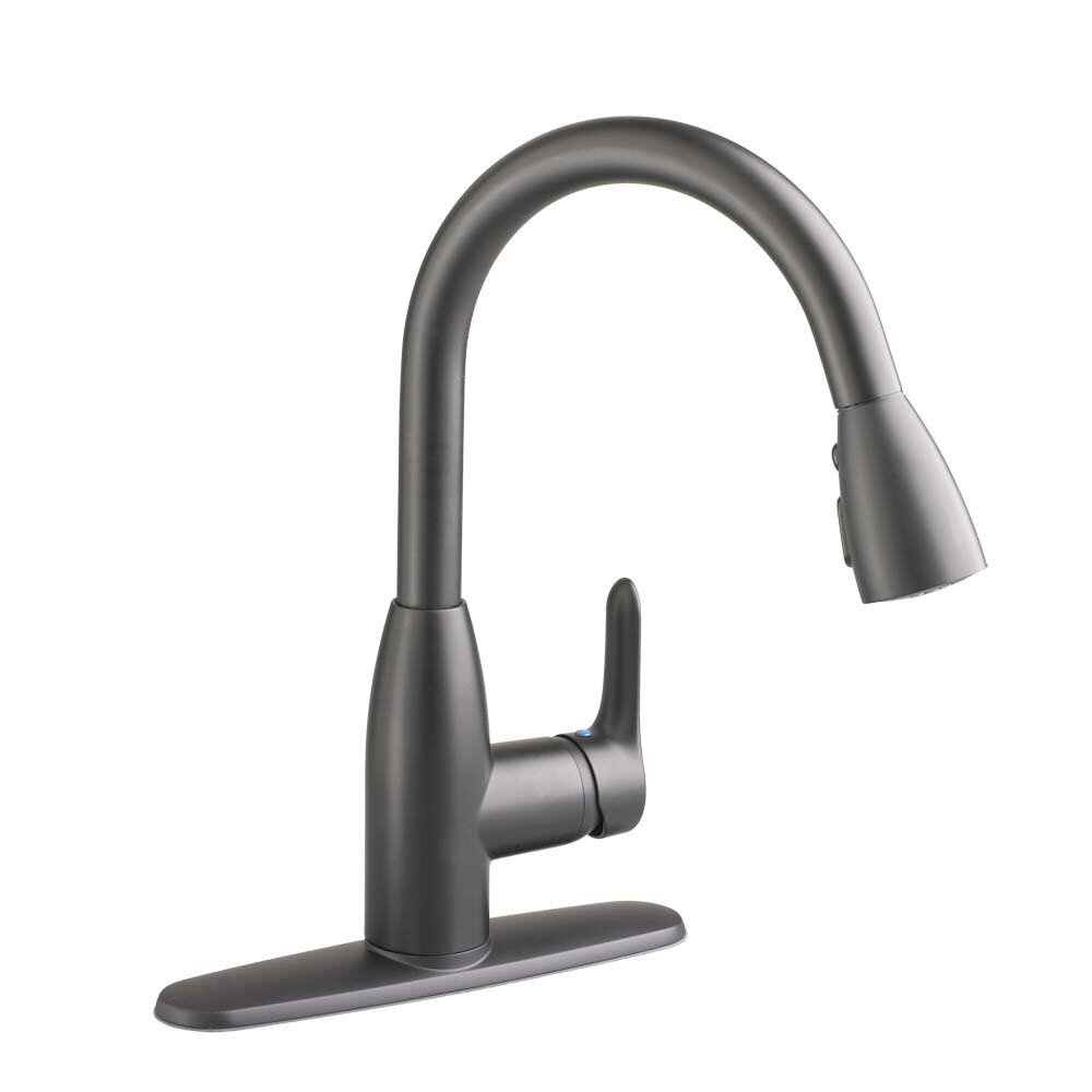 american standard colony soft single handle pull down kitchen faucet