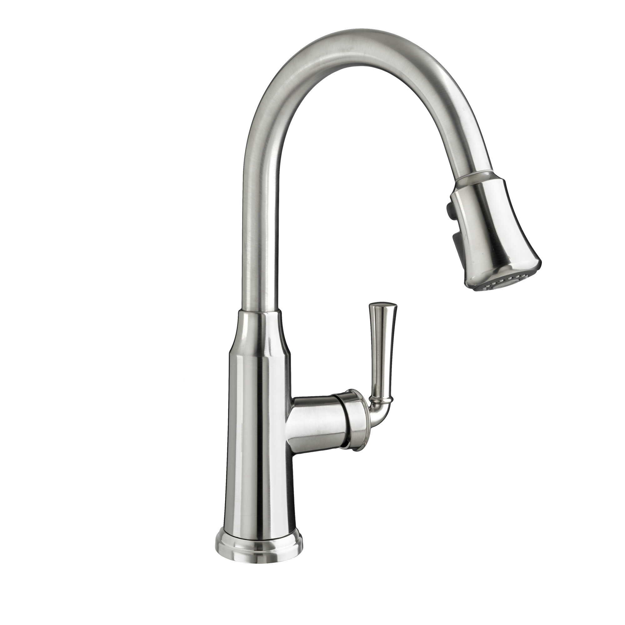 american standard portsmouth single handle deck mounted kitchen faucet