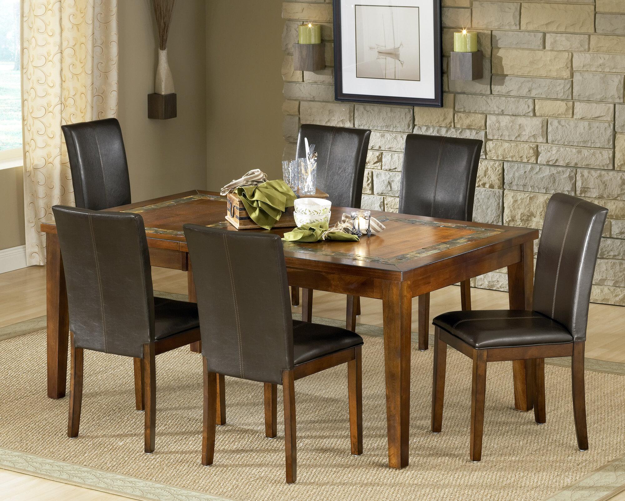 steve silver furniture davenport dining table ebay. Black Bedroom Furniture Sets. Home Design Ideas
