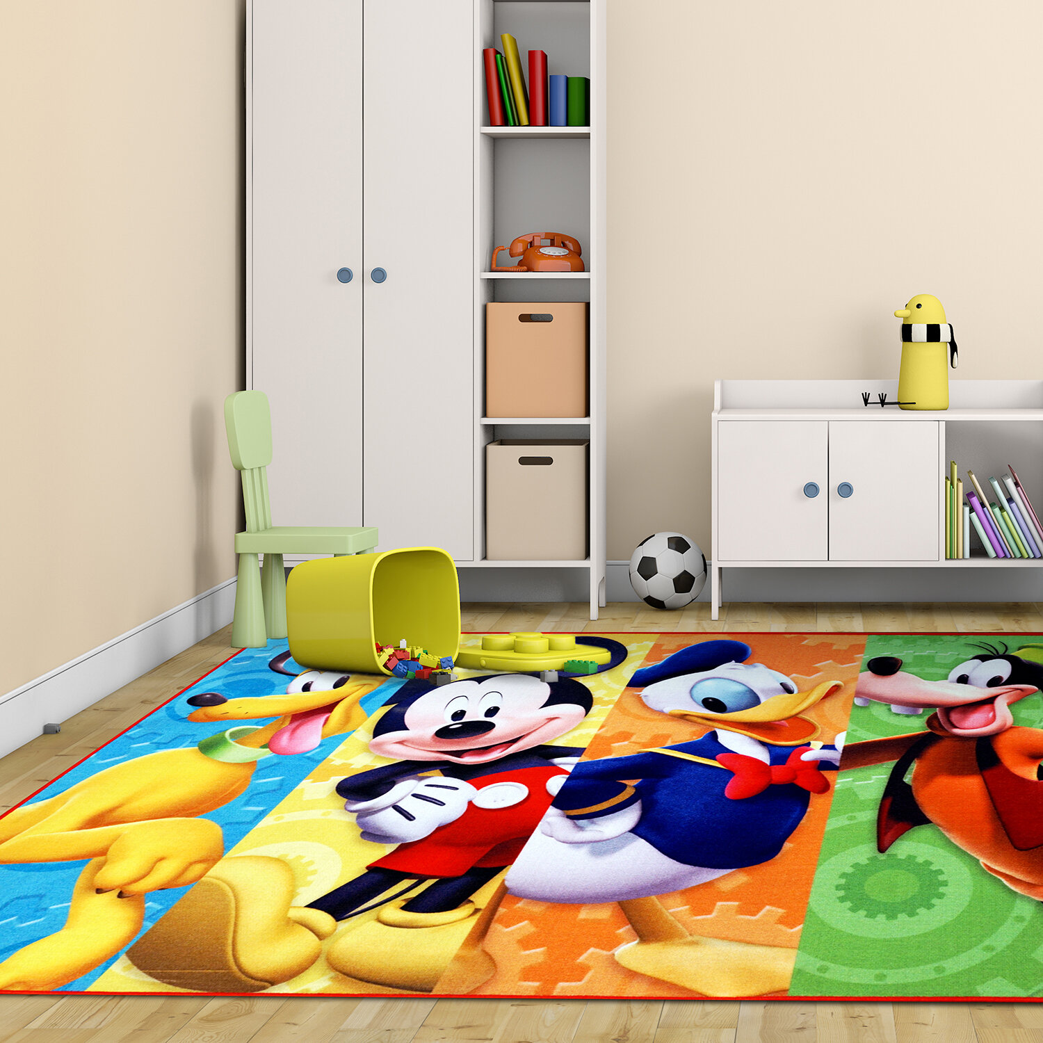 G A Gertmenian Amp Sons Disney Mickey Mouse Polyester Blue