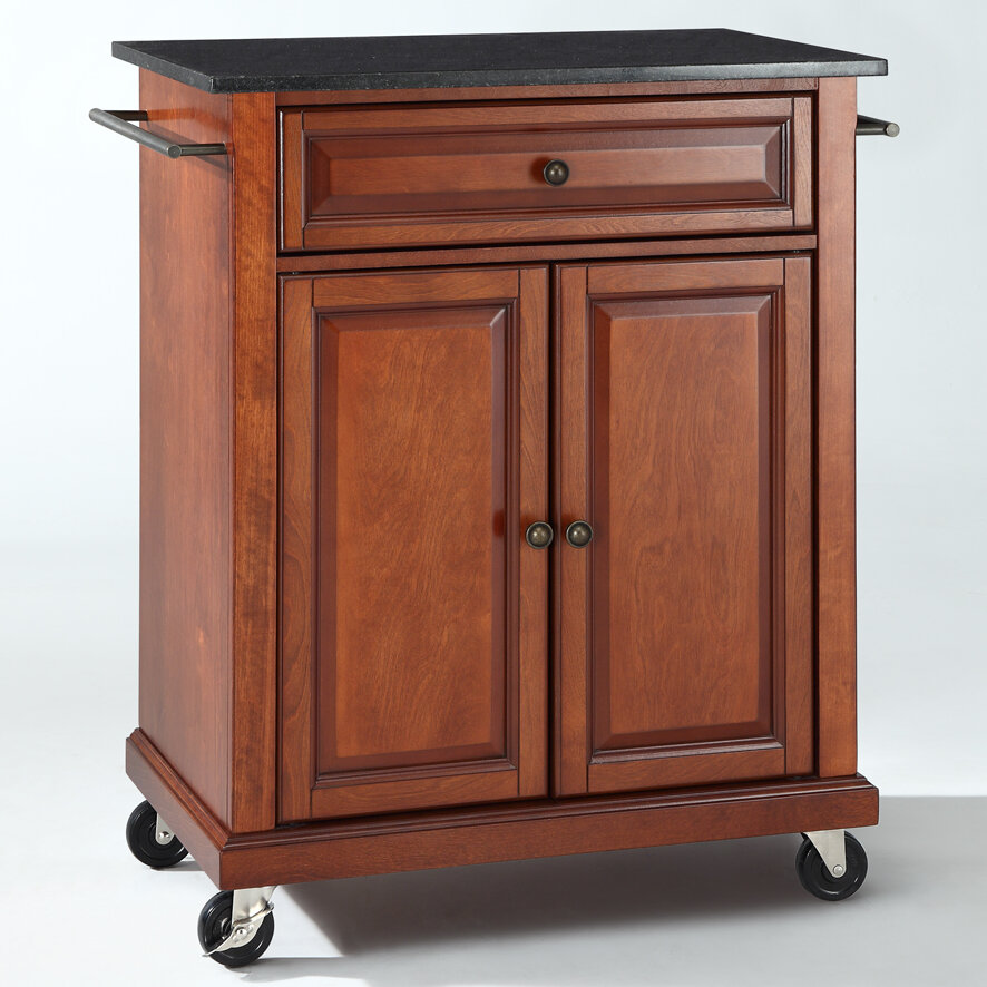 Crosley Kitchen Cart With Granite Top Ebay