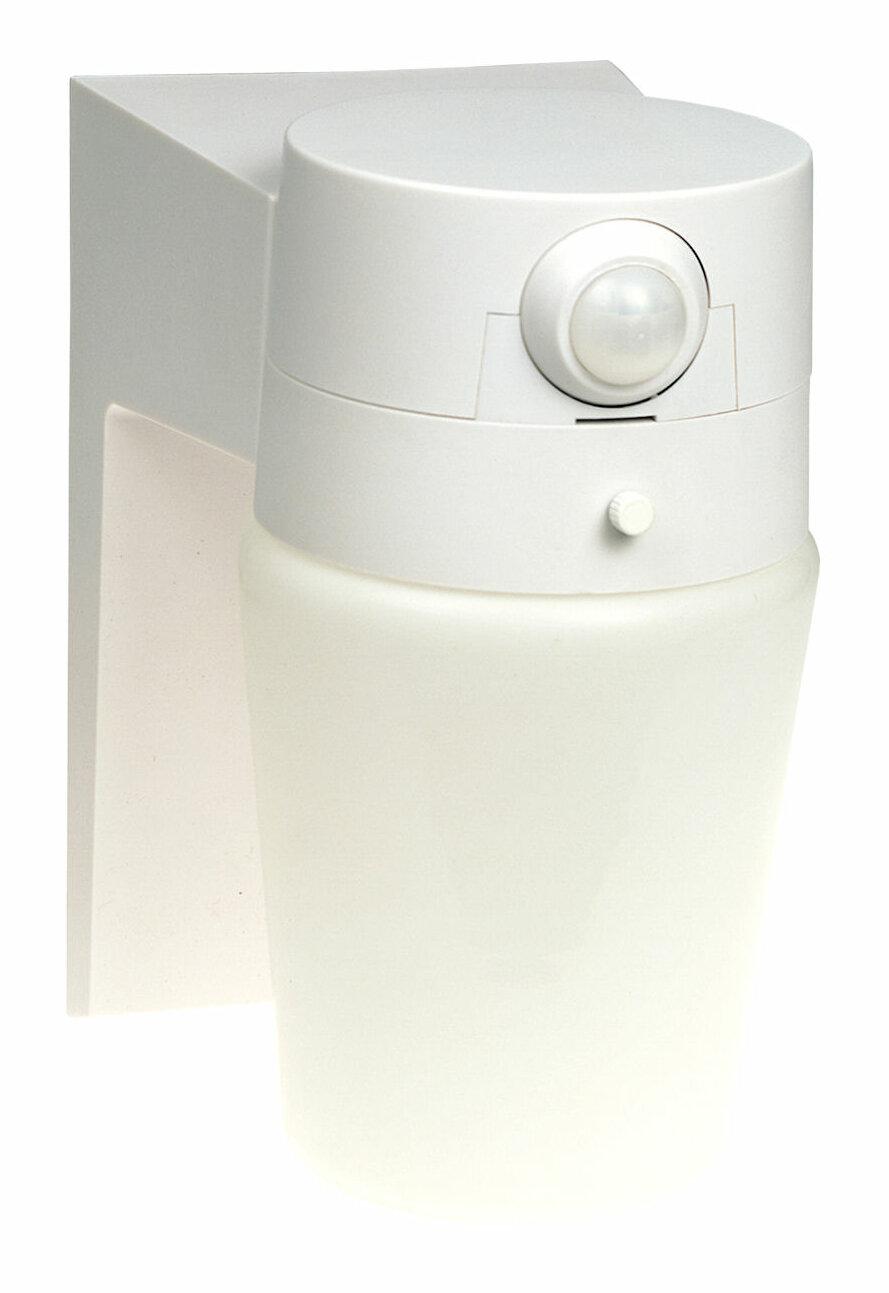 Heath Zenith Motion Activated 1 Light Outdoor Wall Lantern
