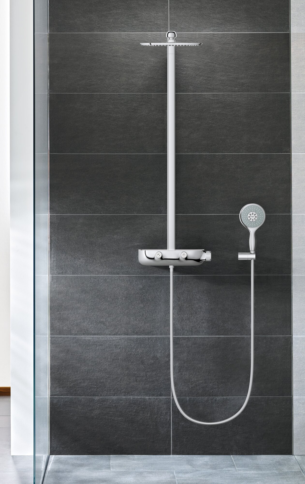 grohe smart control complete shower system ebay. Black Bedroom Furniture Sets. Home Design Ideas