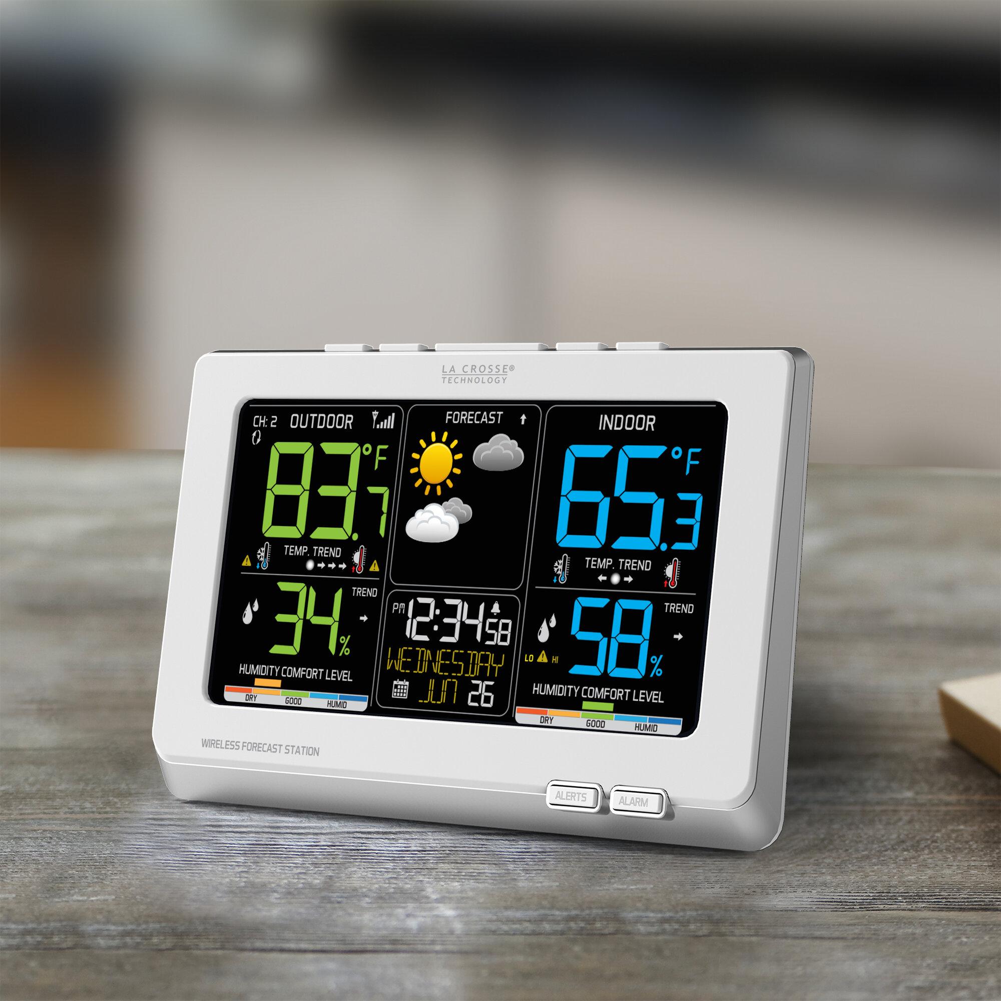 la crosse technology wireless forecast station ebay. Black Bedroom Furniture Sets. Home Design Ideas