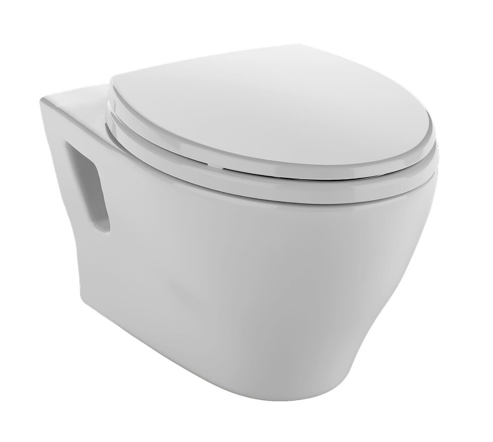 Toto Aquia Dual Flush Elongated Toilet Bowl
