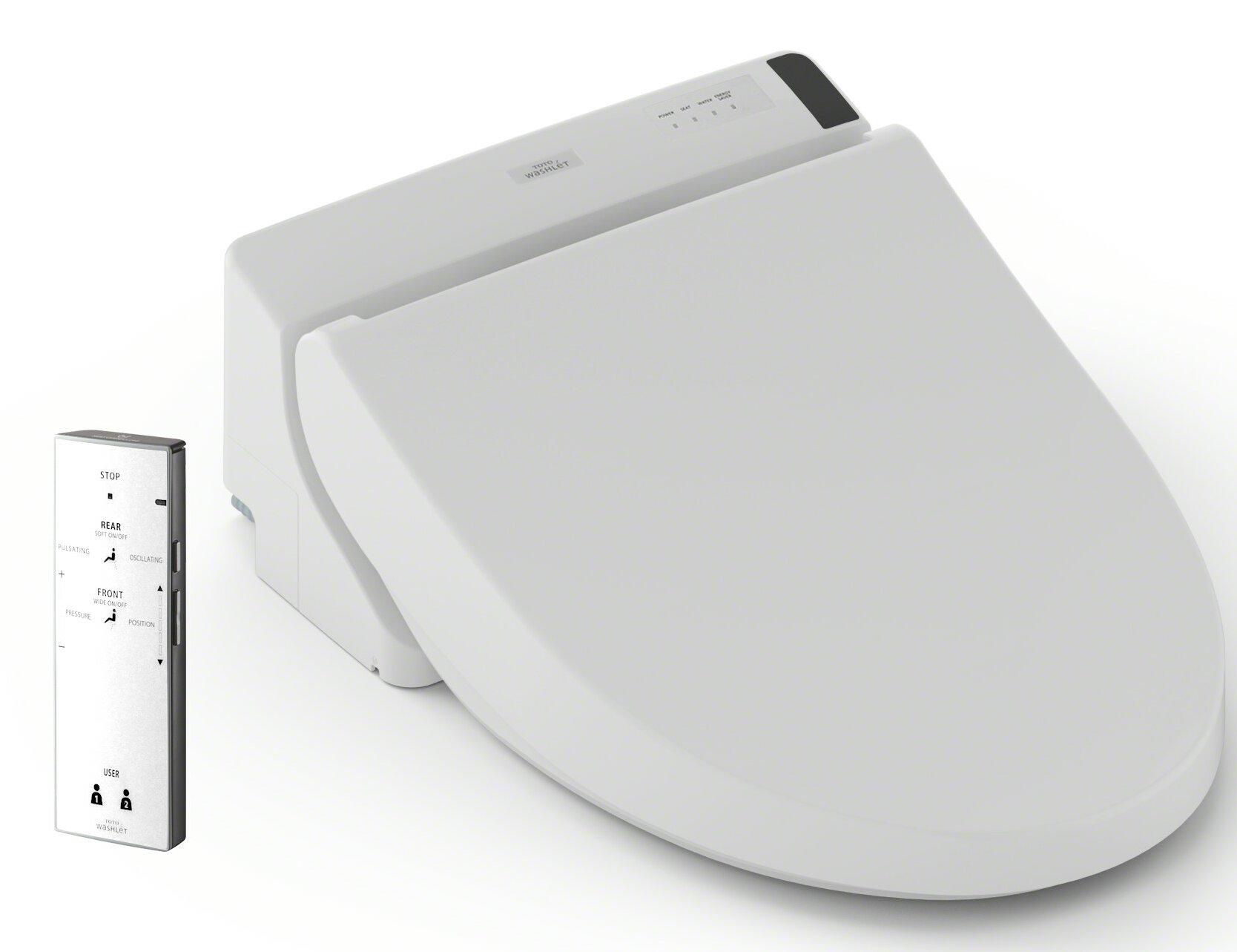 toto washlet a200 elongated toilet seat bidet ebay. Black Bedroom Furniture Sets. Home Design Ideas