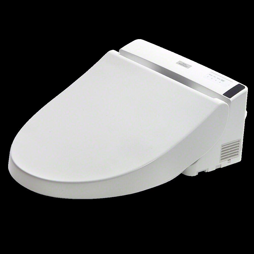 Toto Washlet Elongated Toilet Seat Bidet Cotton White Ebay