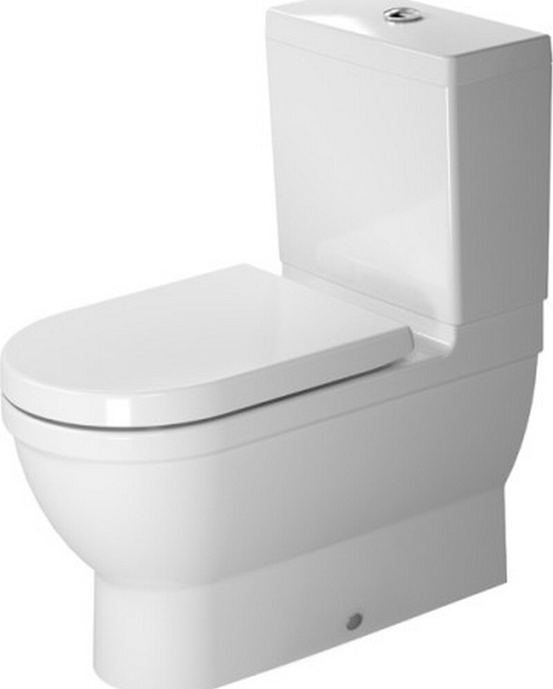 duravit starck vario outlet washdown toilet close coupled