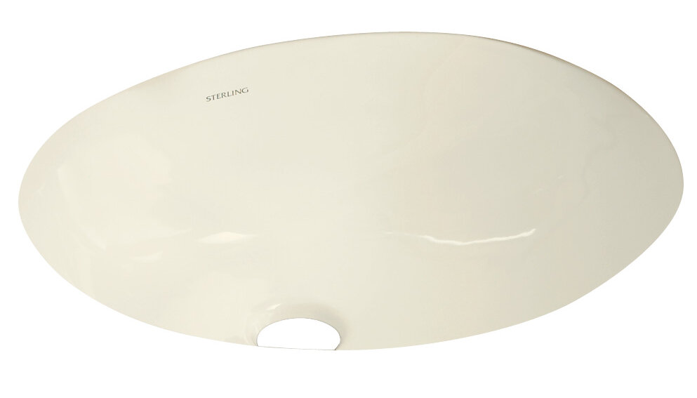 Kohler Wescott Ceramic Circular Undermount Bathroom Sink With