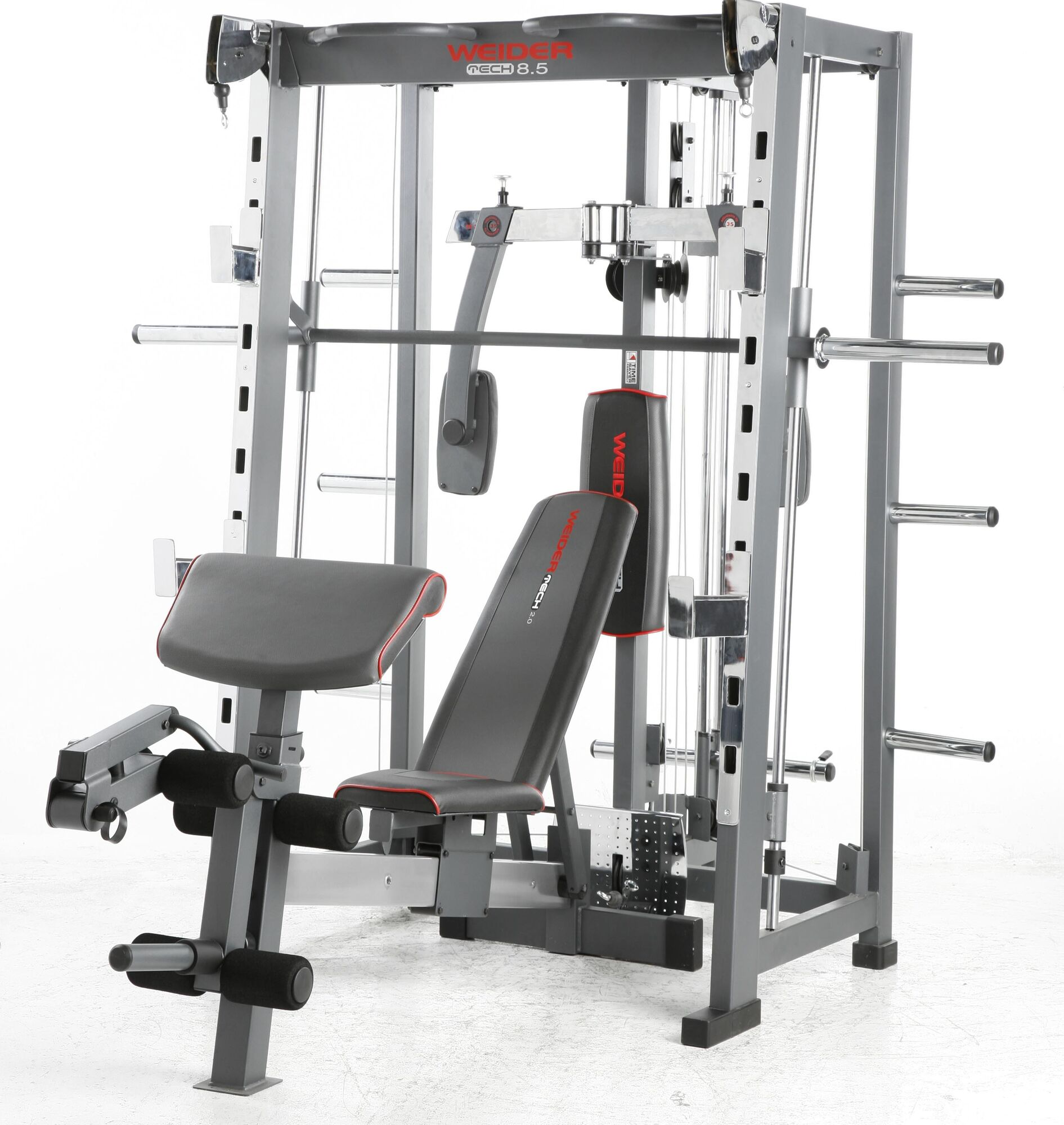 Weider fitness machines benches utility