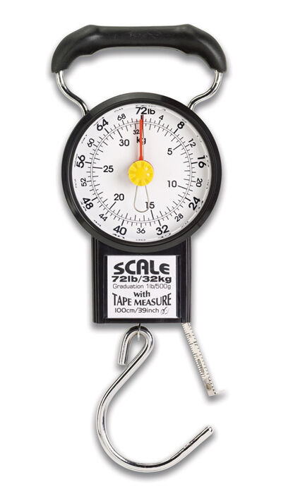 Lewis N. Clark Luggage Scale with Weight Indicator