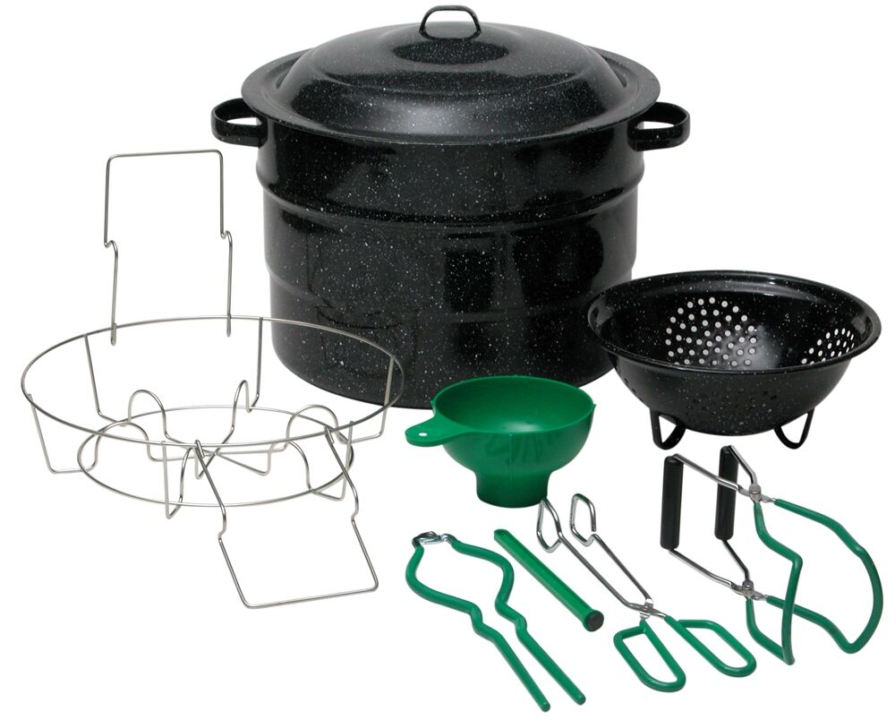 Graniteware 9 Piece Canner Set