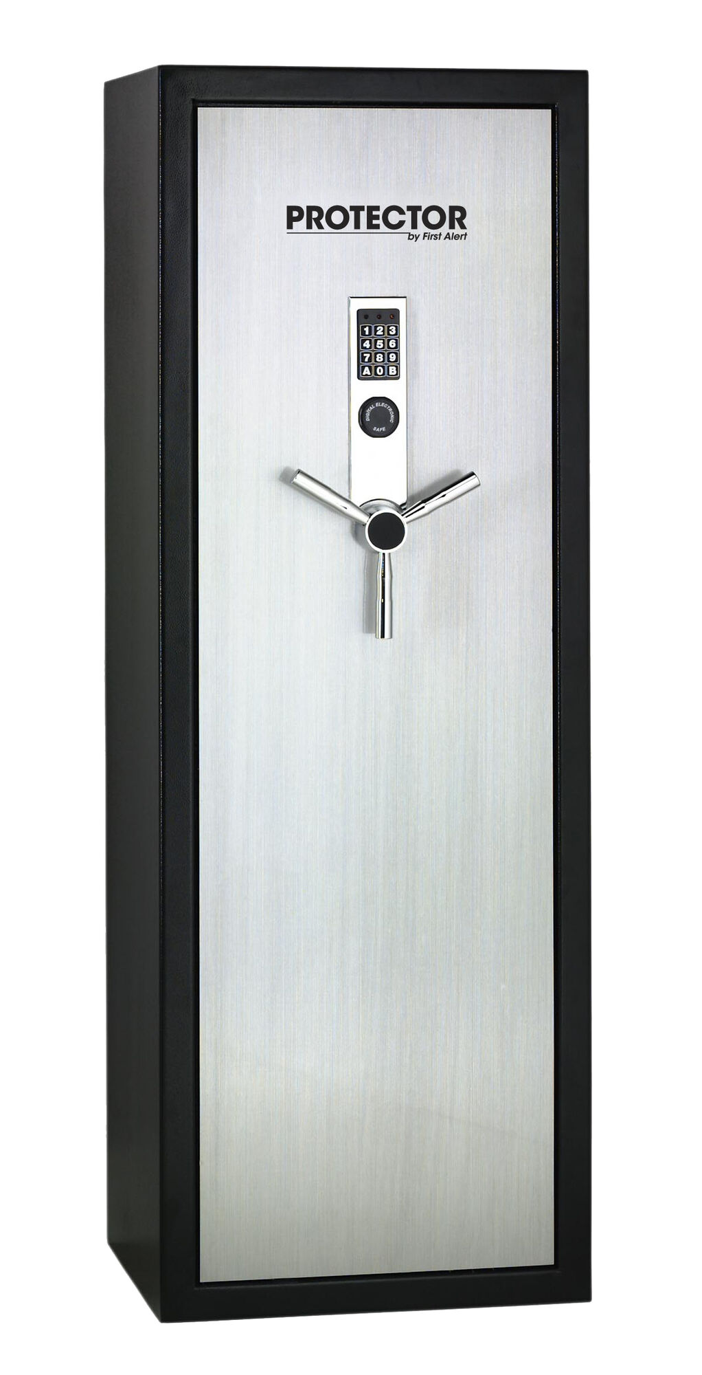 Executive Gun Safe with Digital Lock and Brushed Aluminium Door - 7.77 cu. ft.