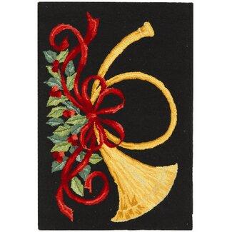 Vintage Posters Christmas Rug