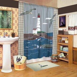 Lighthouse Shower Curtain Shop