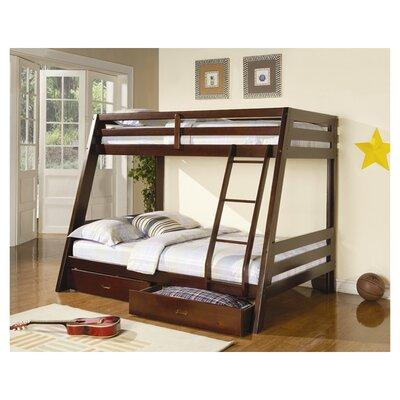 Wildon Mullin Twin Over Full Bunk Bed Storage Photo