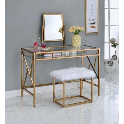 Everly Quinn Vanity Set Mirror Dressing Tables