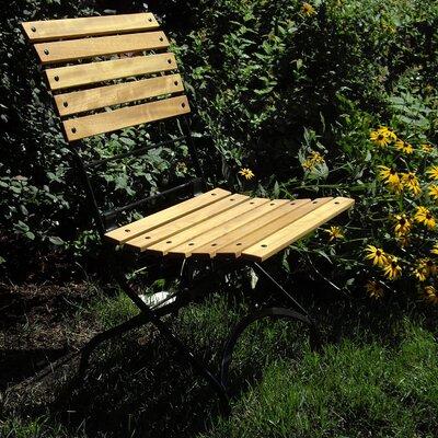 Furniture Designhouse Folding Teak Patio Dining Chair