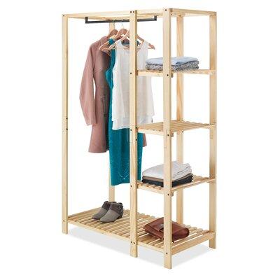 Rebrilliant Closet System Wood Closet Storage