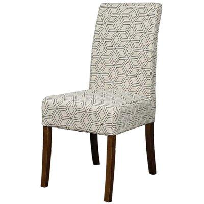 Red Barrel Studio Diamond Fabric Side Chair Geo Dining Chairs