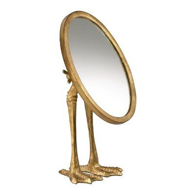 Cyan Mirror Leg Mirrors