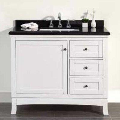 Ove Decors Granite Top Rectangular Basin Vanity Set Single Vanities