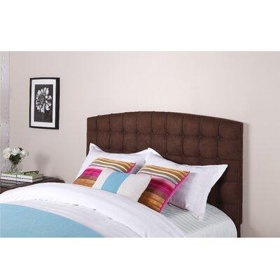 Dorel Panel Headboard Upholstery Brown