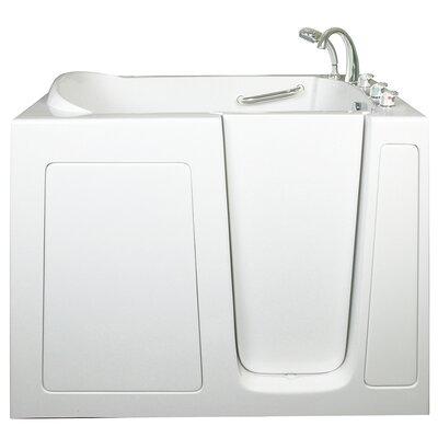 Threshold Air Hydro Massage Whirlpool Tub Drain Location Right