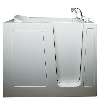 High Air Massage Whirlpool Tub Drain Location Right