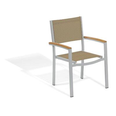 Latitude Run Teak Dining Chair Travira Dining Chairs