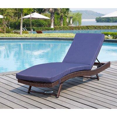 Mercury Row Reclining Chaise Lounge Sun Loungers