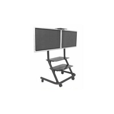 Chief Dual Display Video Conferencing Av Cart