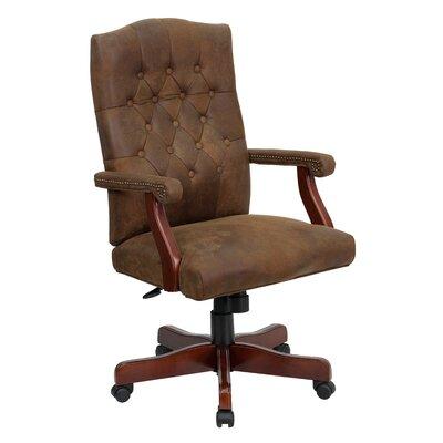 Flash Back Martha Swivel Executive Chair Upholstery Bomber