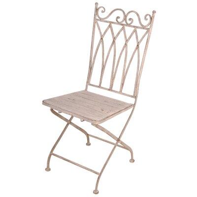 Esschert Design Metal Folding Patio Dining Chair