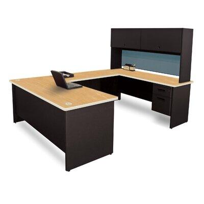 Marvel Executive Desk Hutch Top Oak