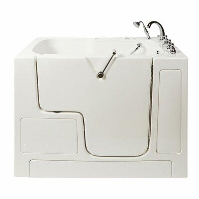 Access Air Massage Whirlpool Bathtub Drain Location Right Hand