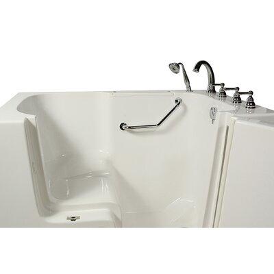 Access Whirlpool Bathtub Drain Location Right Hand