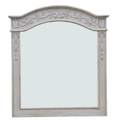 Empire Bathroom Vanity Mirror Pearl White