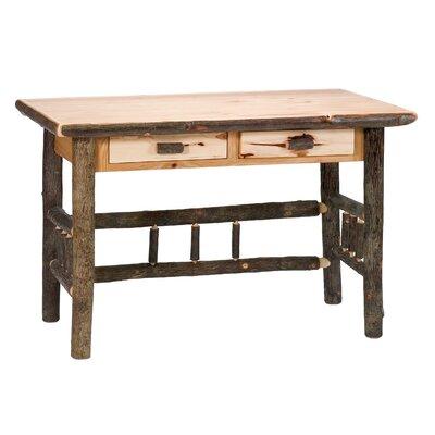 Fireside Lodge Drawer Writing Desk Traditional
