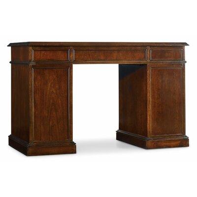 Hooker Front Executive Desk Bow Desks