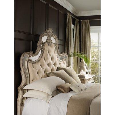 Hooker King Upholstered Panel Bed Sanctuary Beds