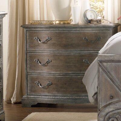 Hooker Drawer Nightstand Vintage Bedside Tables