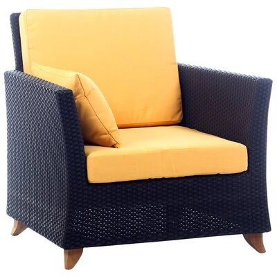 All Things Cedar Seating Arm Chair Cushion Yellow