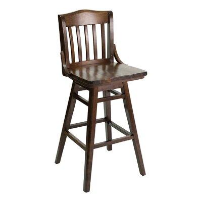 Florida Seating Side Chair Ivory Base Walnut