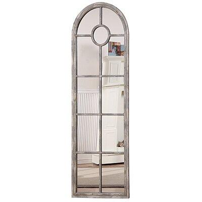 Mistana Arched Window Pane Mirror Ellar Mirrors