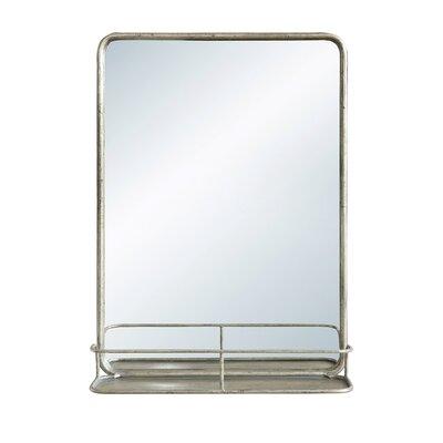 Breakwater Bay Diep Metal Wall Mirror Shelf Product Photo