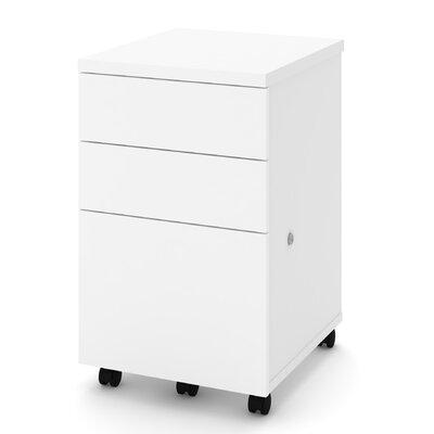 Symple Stuff Vertical Filing Cabinet Mobile Filing Cabinets