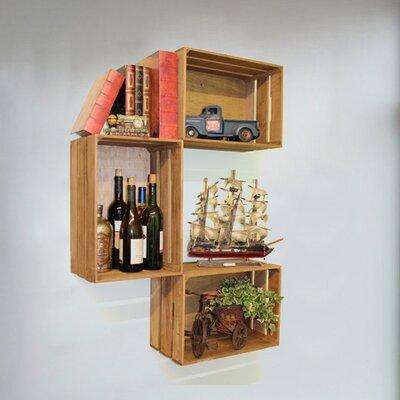 Quickway Crate Shelf Wooden Shelves
