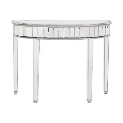 Rosdorf Park Circle Console Table Half Sofa Console Table